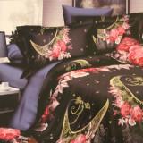Lenjerie de pat din bumbac de 2 persoane cu 6 din bumbac