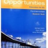 New Opportunities Pre-Intermediate. Student's Book - Certificare