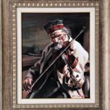 Pictură de colecție-ulei pe panza-semnata-a.c.panatta-60x50cm - Pictor roman, Portrete, Impresionism