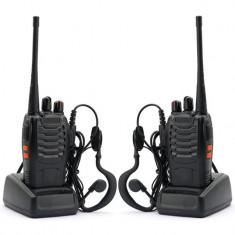 Set doua statii portabile Baofeng BF-888S - Statie radio