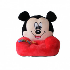 FOTOLIU MICKEY MOUSE DIN PLUS - Fotoliu copii