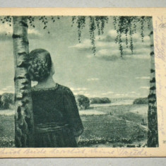 AK - CP- Germania- Postkarte - Vara - peisaj W. VOSS, Circulata, Fotografie