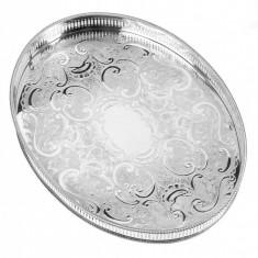 Tava ovala decorata mare 37,5 cm