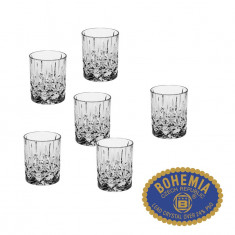 Set de 6 pahare whisky Sheffield 270ml - Cristal Bohemia,Cod Produs:30