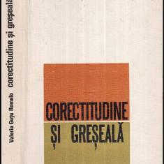 Corectitudine si greseala - Autor(i): Valeria Gutu Romalo - Carte traditii populare