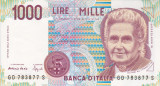 ITALIA 1.000 lire 1990 XF!!!