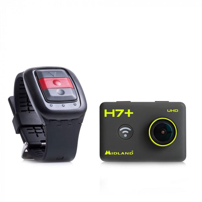 Resigilat : Camera video sport Midland H7+ Action Camera ULTRA HD 4K cod C1302
