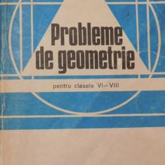 Probleme de geometrie clasele VI - VIII de A. Hollinger - Carte Matematica