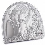 Icoana din Argint 925, Iisus Hristos, 11x9.5cm,Cod Produs:835