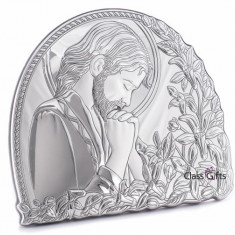 Icoana din Argint 925, Iisus Hristos, 11x9.5cm, Cod Produs:835
