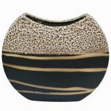 Vaza ovala mare ceramica Lines,Cod Produs:1976