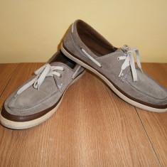 Pantofi casual barbati Zara, mar 43, 28 cm, piele, stare buna! - Mocasini barbati Zara, Culoare: Din imagine