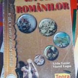 ISTORIA ROMANILOR CLASA A VIII A -LAZAR , LUPU, Clasa 8, Istorie