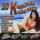 Mojado Tigrillos Pelillos - 20 Kumbias Kalientes ( 1 CD ) - Muzica Latino