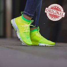 Nike Air Presto Flyknit Ultra Voltage Green COD: 835738-300 - Produs original !