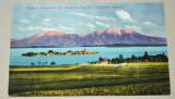 CP - Carte postala veche - Fraueninsel im Chiemsee mit Hochfelln und Hochgern, Belgia, Circulata, Fotografie