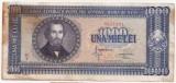 ROMANIA 1000 LEI 1950 XF