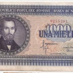 ROMANIA 1000 LEI 1950 XF - Bancnota romaneasca