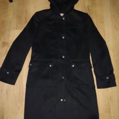Palton dama Michael Kors 100%lana marimea 42(M/L), Culoare: Negru