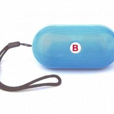 Mini BOXA portabila WIRELESS,bluetooth 3.0 EDR,slot Micro SD,microfon,radioFM