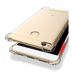 Husa de protectie ultraslim cu colturi anti-shock pentru Xiaomi Redmi 3 Pro / 3S, transparent, Gel TPU, Carcasa