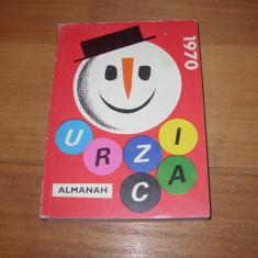ALMANAH URZICA 1970 *