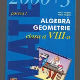 (C7812) MATE 2000+3, ALGEBRA, GEOMETRIE CLASA A VIII-A, PARTEA I, ANTON NEGRILA - Carte Matematica