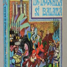 Carte Povesti - Din radacini de legenda si balada Al. Mitru (deteriorata) - Carte de povesti