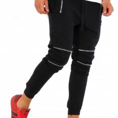 Pantaloni barbati de trening - negri - COLECTIE NOUA - 9231, Marime: S, Culoare: Din imagine