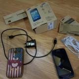 Samsung Galaxy Core Duos, dual sim, 3G, liber de rețea - Telefon mobil Samsung Galaxy Core, Albastru, Neblocat