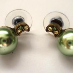 Cercei SUPERBI eleganti CU SWAROVSKI si PERLA - Cercei perla
