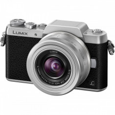 Aparat foto Panasonic DMC-GF7KEG-S Argintiu - Accesoriu Protectie Foto