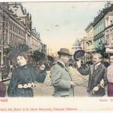 Carte Postala Salutari din Romania - Bucuresti - Bulevardul Elisabeta - Carte Postala Muntenia 1904-1918, Necirculata, Printata