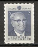 Austria. 196970 ani nastere F.Jonas-presedinte   KZ.365