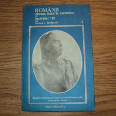 Romanii - originea, trecutul, sacrificiile si drepturile lor, Ion Antonescu - Istorie