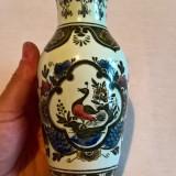 Vaza portelan Villeroy & Boch, Paun, Vaze