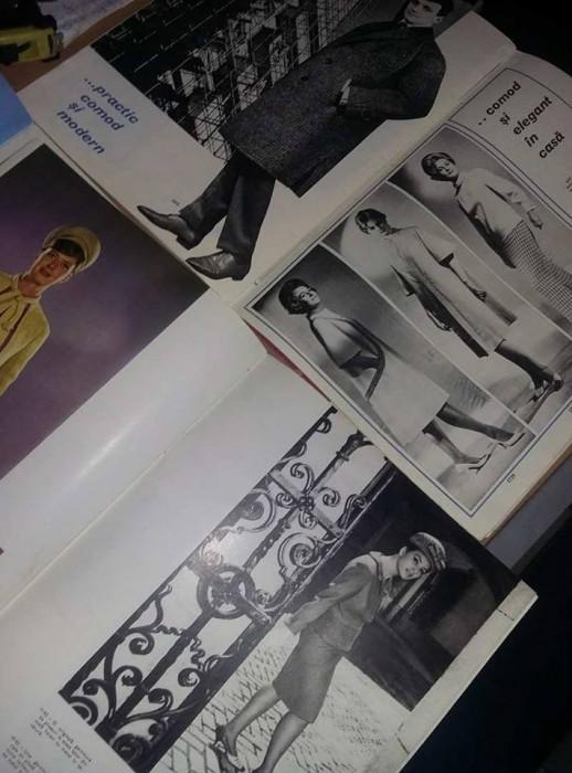 Revista MODA 1964,1966,1968,Reviste de moda si creatie,T.Gratuit pt.set