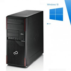 PC Refurbished Fujitsu ESPRIMO P710, Core i3-2100, Win 10 Home - Sisteme desktop fara monitor Siemens