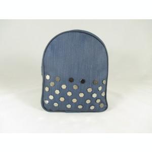 Rucsac/ghiozdan dama albastru bleumarin cu capse+CADOU