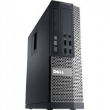 Calculator DELL 3020 SFF, Intel Core i3-4130 3.40 GHz, 4GB DDR3, 500GB SATA, DVD-RW - Sisteme desktop fara monitor