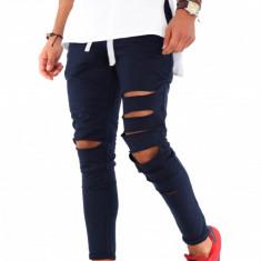 Pantaloni barbati de trening - bleumarin - COLECTIE NOUA - 9226, Marime: S, M, L, XL, Culoare: Din imagine
