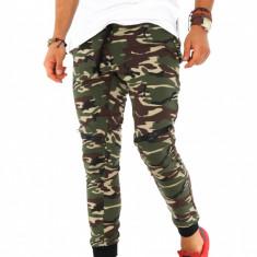 Pantaloni barbati de trening - camuflaj - COLECTIE NOUA - 9227, Marime: S, M, L, XL, Culoare: Din imagine