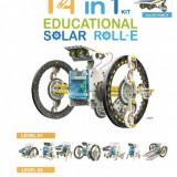 Kit solar educational robot 14in1 Roll-e