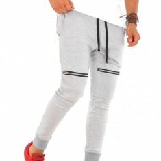 Pantaloni barbati de trening - gri - COLECTIE NOUA - 9228, Marime: L, XL, Culoare: Din imagine