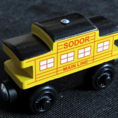 Thomas and Friends ✯ Wooden Railway ✯ SODOR LINE CABOOSE y ✯ Magnet Vagon ✯ 2012 - Trenulet, Locomotive