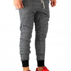 Pantaloni barbati de trening - gri - COLECTIE NOUA - 9229, Marime: S, M, L, XL, Culoare: Din imagine
