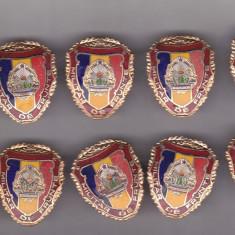 Bnk ins Insigna Militar de frunte - lot 10 bucati, Romania de la 1950