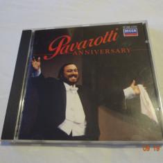 Pavarotti - Aniversary - album - Muzica Clasica decca classics, CD