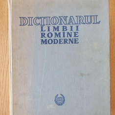 DICTIONARUL LIMBII ROMANE MODERNE- ACADEMIA ROMANA- cartonata - DEX