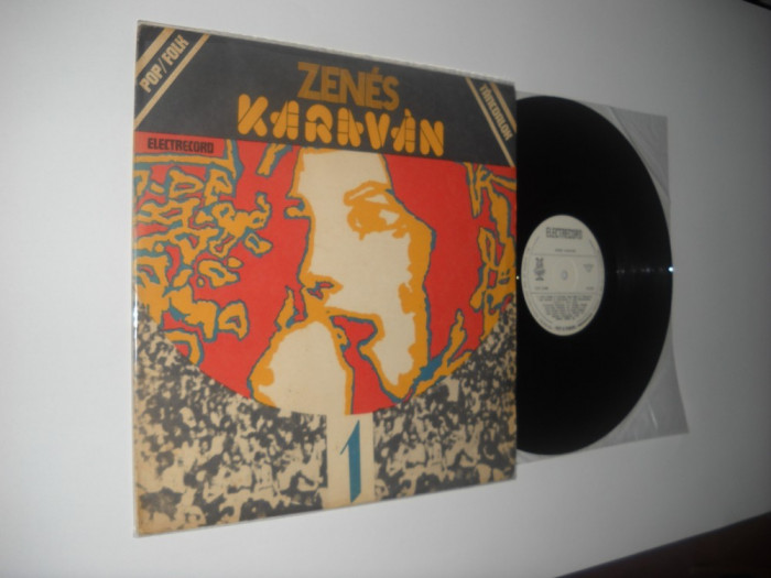 ZENES KARAVAN (CARAVANA MUZICALA)  I (Pop-Folk)(Trupe maghiare: Metropol, etc)